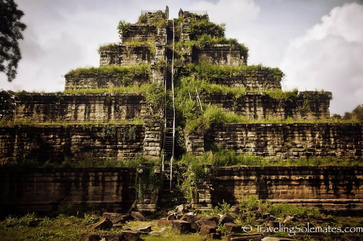 Pyramid Temple-Prasat Thom, Koh Ker, Cambodia