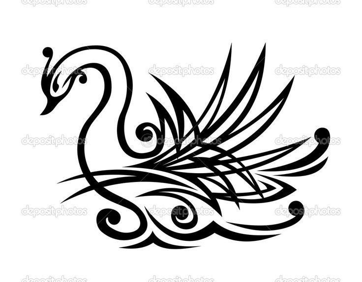 black swan tattoo