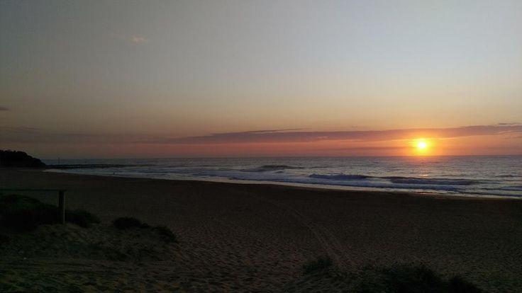 North Narrabeen Beach sunrise on Tuesday morning. @northnarrabeen @SeaShepherd_LA @MSUArchivist @AlboMP @ManlyDaily