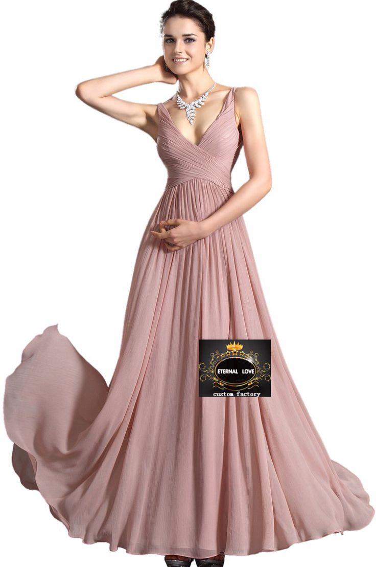 Lujoso Vestidos De Dama De Color Canela Festooning - Colección de ...