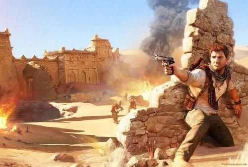 Unchartedv3 Drakes Deception Arab Wallpaper