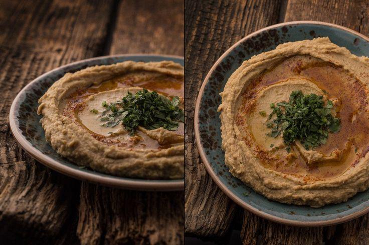 Hummus s paprikou a olivovým olejom — Bratilicious