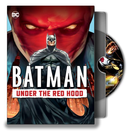 Icon (.png format, conversion in .ico needed) for the customization of desktop folder of #DC animate film 'Batman under the red hood'. #Batman, #Animated