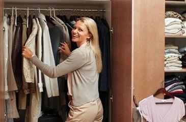 Как навести порядок в шкафу с одеждой. Правильное и быстрое наведение порядка в шкафу, видео