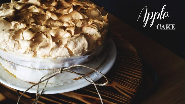 Food's Language: APPLE CAKE