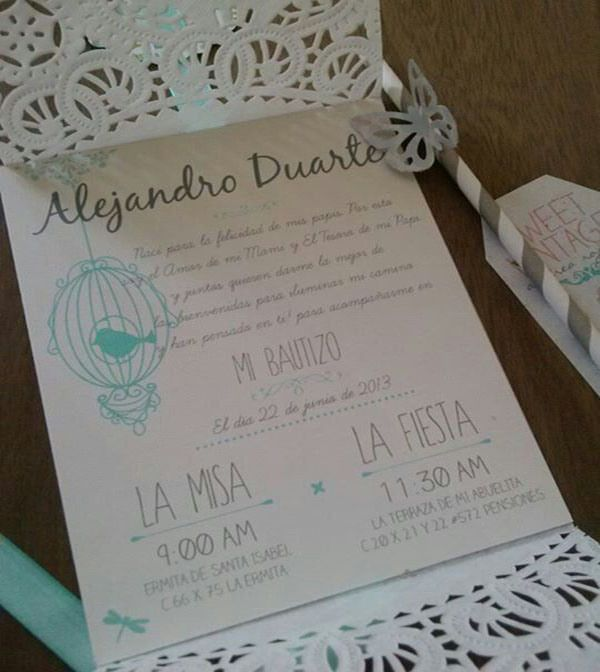 Decorando invitaciones