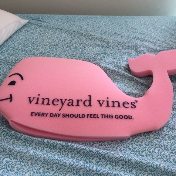 RARE vineyard vines foam whale hat!  Pink foam whale hat. Although it is a hat I've come up with many other uses for it. You could use it as a seat cushion, a bath toy, a hat of course, or even a decoration! This hat is perfect for a preppy vineyard vine fan! Vineyard Vines Accessories Hats
