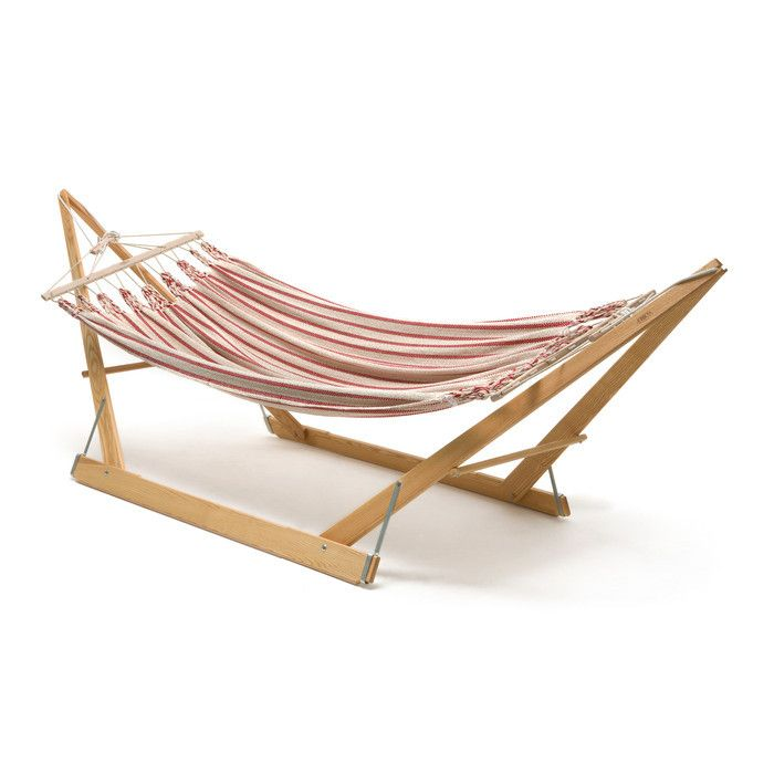 Folding wood hammock stand plans woodworking projects for Hammock chair stand plans