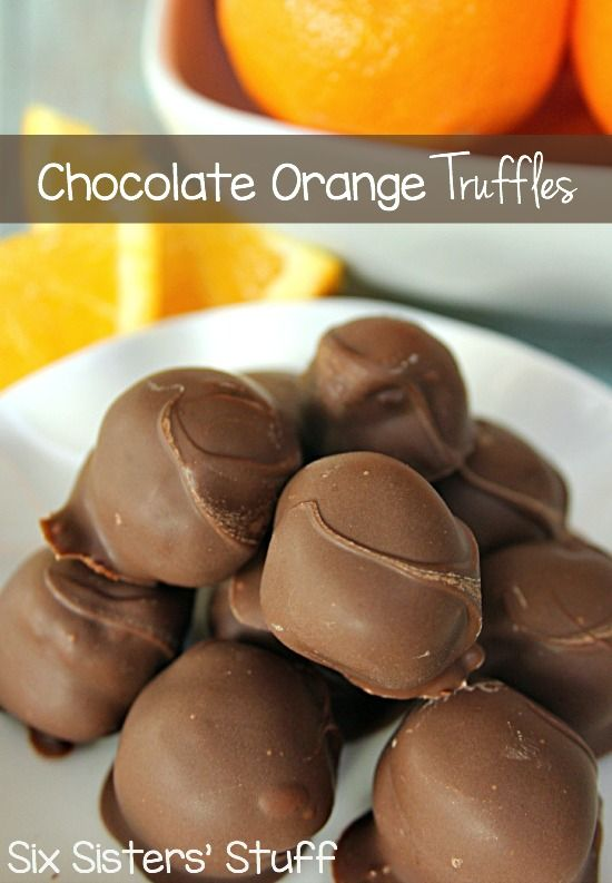 Chocolate Orange Truffles Recipe on MyRecipeMagic.com