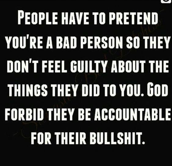 Boy do I know a person who fits this to a T. No wonder she acts the way she does...