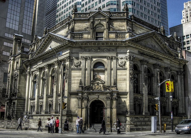 The Hockey Hall of Fame.  A mecca to Canadian hockey fans. :) Via Flickr by  -Astin-