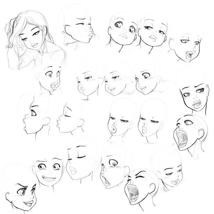 Image Result For Drawing Female Face Angles Drawing Tutorial Face Cartoon Faces Character Design