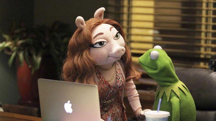 Kermit der Frosch hat ein neues Schwein!