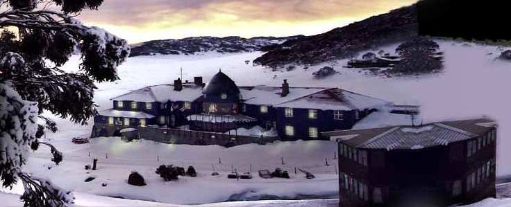 Snow Australia - Kosciuszko Chalet Hotel, Charlotte Pass Ski Resort, New South Wales #snowaus