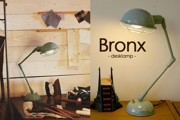 【楽天市場】【ポイント12倍/送料無料】Bronx −desk light−/ブロンクス デスクライト ART WORK STUDIO AW−0348【RCP】【2/25】:インテリア雑貨 フラネ flaner