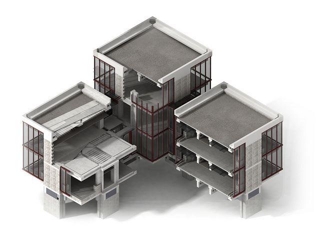 Piet Blom Floor Plan The Structuralist Architectural