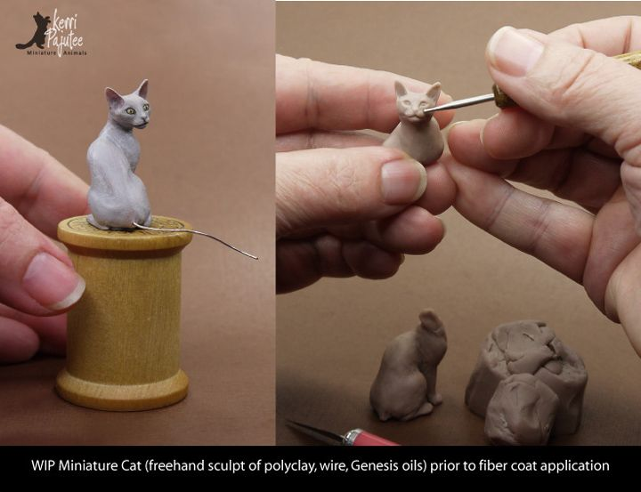 how to make clay models of people