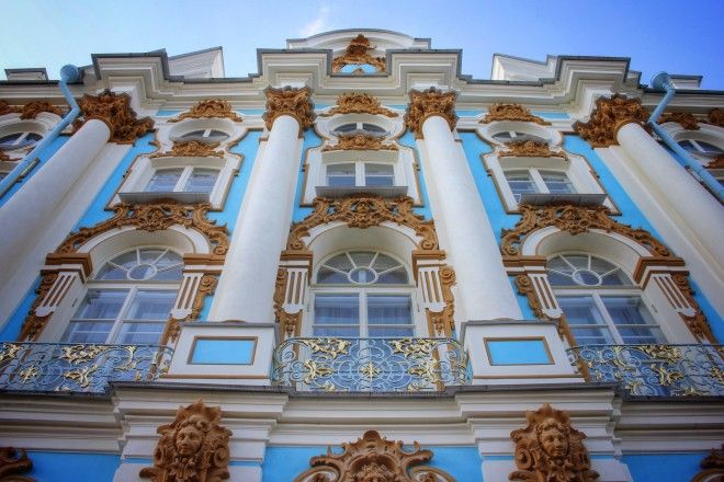 Catherine's Palace in Pushkin, Petersburg, #Russia