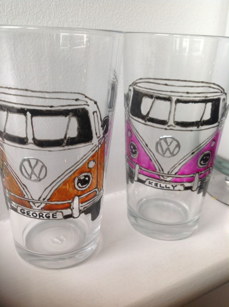 VW Camper Van Glass