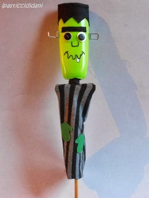 i pasticci di dani: burattini di Halloween: Frankenstein - tutorial