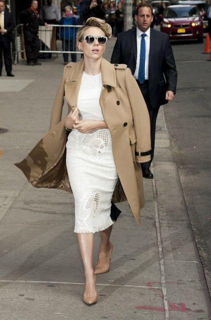 Street style | Minimal white outfit