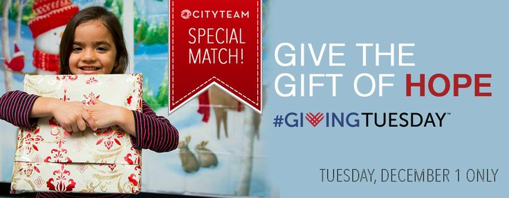 Give the gift of hope by donating a toy to a child in need this #givingtuesday @Cityteam