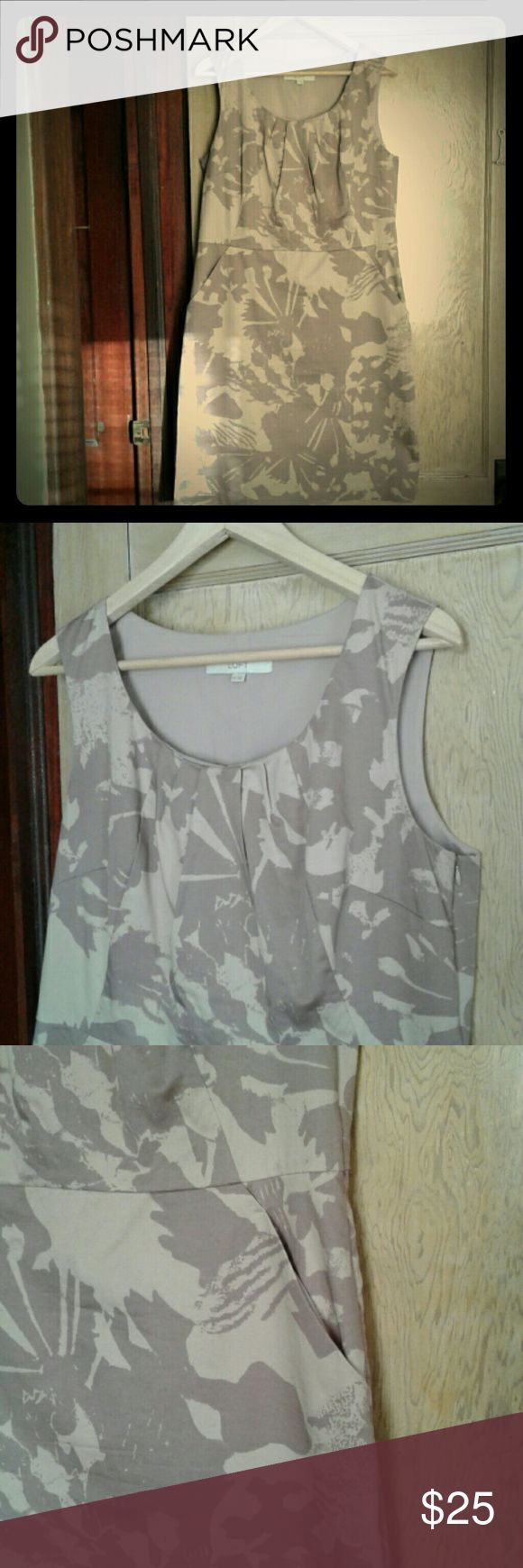 Anne Taylor Loft dress size 14 This dress is in good condition and it has pockets! LOFT Dresses