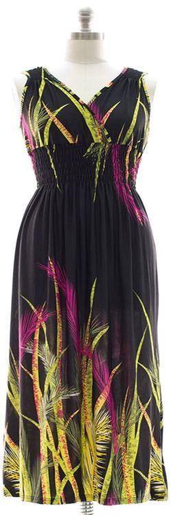 Surplice Maxi Dress with Cinch Womens Plus Size 1X   | eBay