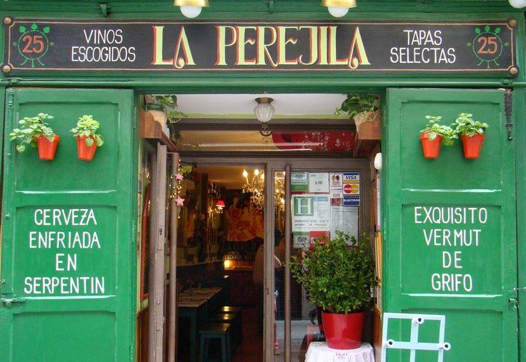 """Taverna """"La Perejila"""" """"Barrio"""" de La Latina - Madrid Oh, how I miss this!!   lo echo de menos"""
