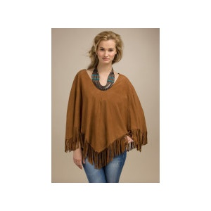 I love, love my Lucky brand Suede Poncho. It feels so soft to wear.
