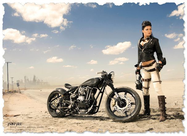 Harley Bobber in Australia