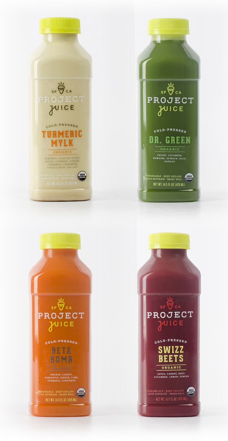 Reviewed: New Logo and Packaging for Project Juice by Chen Design Associates