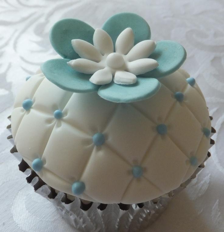 A blue cutie by Cupcakes à la carte