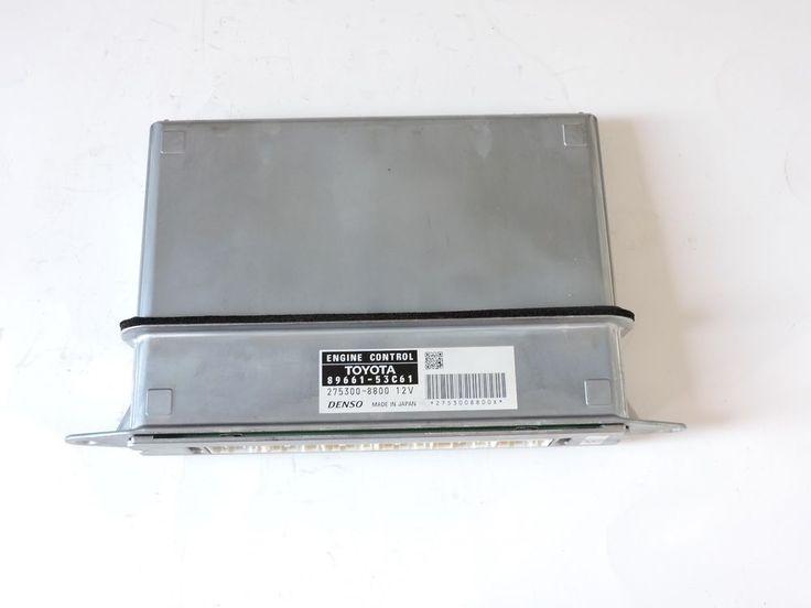 2009 Lexus IS250 Engine Control Unit 89661-53C61 Module Computer ECU ECM #denso