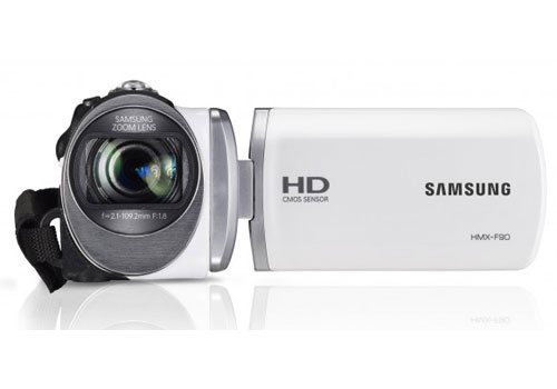 Samsung HMX-F90 HD Camcorder, What's New?