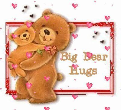 Cute Hugs and Kisses Graphics | Teddy Bears VII. - Hugs & Kisses - Valentine's Day