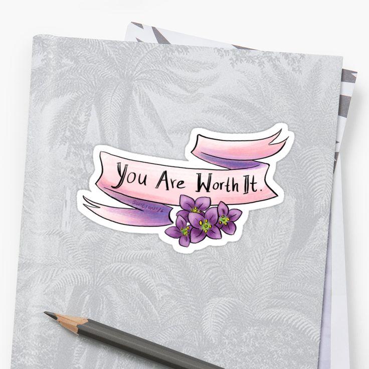 You are worth it by swinku