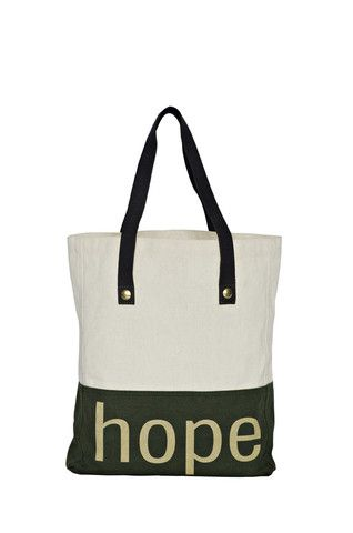 The Printed Tote - Olive Trunk (PoP)