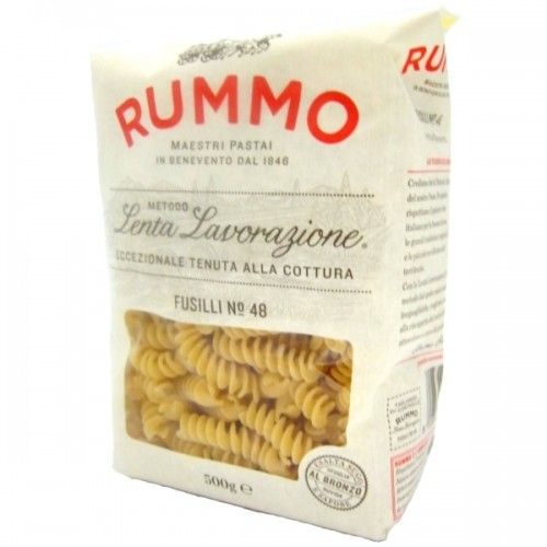 Fusilli (Rotini) - Slow crafting method by RUMMO #pasta #signature #orderonline #italianfood - Try it now on www.delicitaly.com