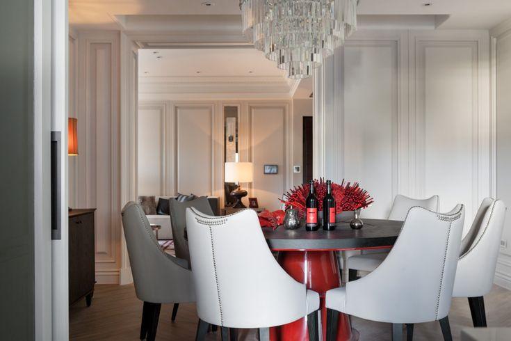 Modern Classic Interior Taiwan (dinning Room) Неоклассический интерьер в  Тайване (столовая) | Interior Design | Pinterest | Room, Neoclassical And  Kitchen ...