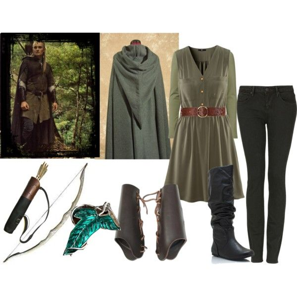 Legolas. No words... except that I love this. And I would definitely wear it if people would look at me strangely
