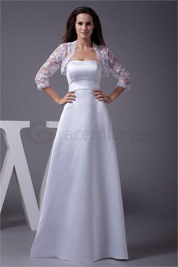 Sleeveless Lace Floor-Length Strapless Mother of the Bride Dress  http://www.GracefulDress.com/Sleeveless-Lace-Floor-Length-Strapless-Mother-of-the-Bride-Dress-p19121.html