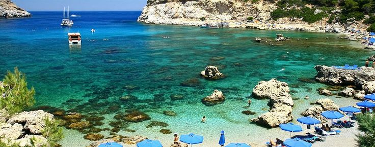 With a stay at Cathrin Hotel in Rhodes (Faliraki), you'll be minutes from Ladiko Beach and close to Anthony Quinn Bay. This 4-star hotel is within close proximity of Faliraki Beach and Afandou Golf Course. See top hotels in Rhodes at http://www.lowestroomrates/hotels/rhodes.html