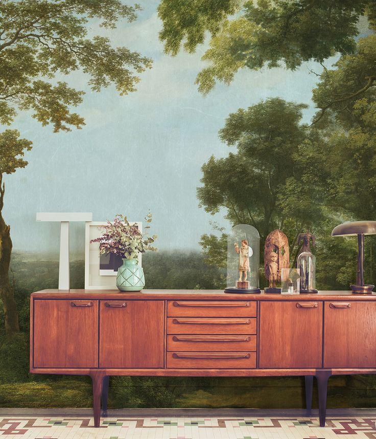 die besten 25 wald tapete ideen auf pinterest wald wandmalerei waldzimmer und wald schlafzimmer. Black Bedroom Furniture Sets. Home Design Ideas