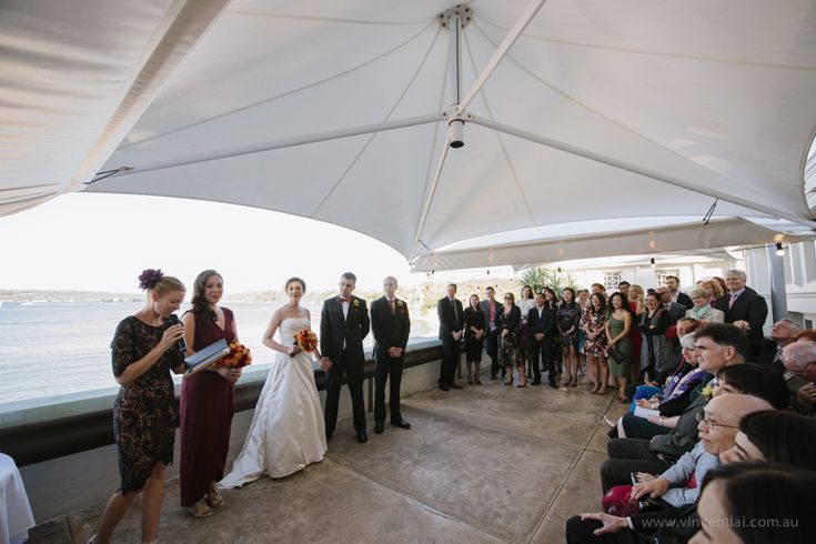 Bathers Pavilion Terrace Wedding