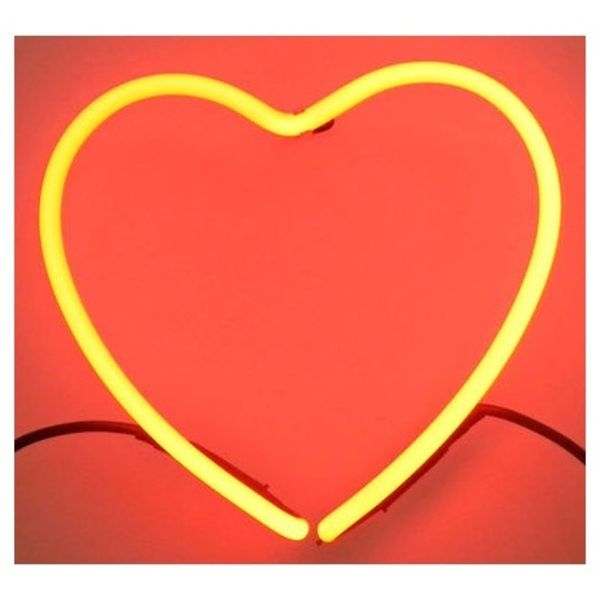 Seletti's limited edition heart neon lamp. | £42.60