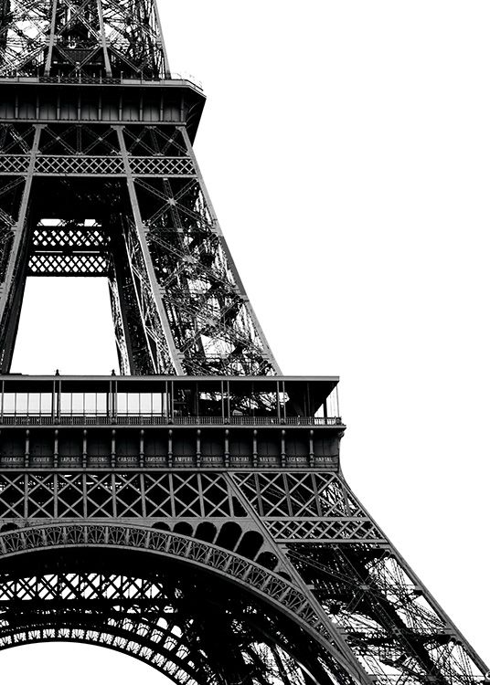 Eiffel Tower Close Up Poster In The Group Studio Collections