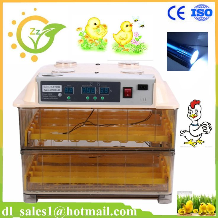 Mini Brooder 96 Egg Automatic Incubator Poultry Hatchery Machine for Chicken Duck Quail #Affiliate