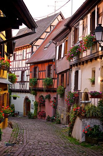 eguisheim, alsace, france | villages and towns in europe + travel destinations #wanderlust