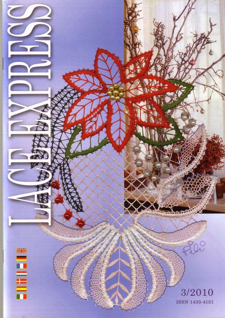 "Кружева на коклюшках: Журнал ""Lace Express"" № 3/2010"